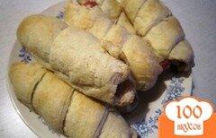 Фото рецепта: «Сосиски в слоеном тесте»