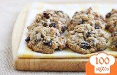 Фото рецепта: «Овсяное печенье с ромом»