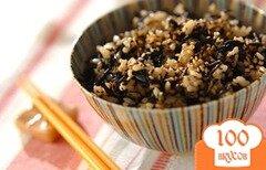 Фото рецепта: «Вареный рис с хидзики»