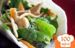 Фото рецепта: «Имбирный соус для салата»