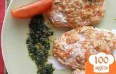 Фото рецепта: «Куриные паровые котлеки под соусом»