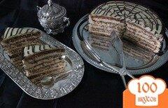 Фото рецепта: «торт *Эстерхази*»