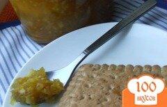Фото рецепта: «Джем из зеленых помидоров с апельсинами»