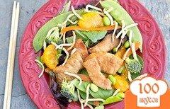 Фото рецепта: «Азиатский салат со свининой»