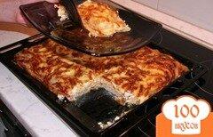 Фото рецепта: «Мясо по-французски с чесноком.»