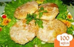 Фото рецепта: «Куриные котлеты запеченные в сметане»