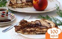 Фото рецепта: «Десерт из баклажанов с рикоттой и шоколадом»