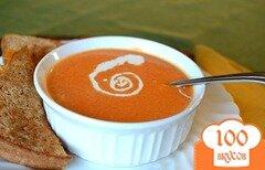 Фото рецепта: «Суп с консервированными помидорами»