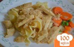Фото рецепта: «Курица в чесночно-уксусном соусе»