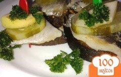 Фото рецепта: «Бутербродики закусочные с сельдью»