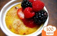 Фото рецепта: «Ванильный крем-брюле»