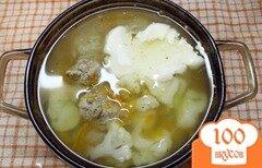 Фото рецепта: «Овощной суп с фрикадельками»