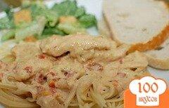 Фото рецепта: «Паста с курицей и специями»