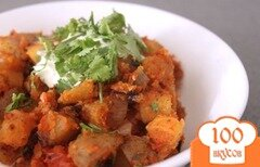 Фото рецепта: «Картофель в остром соусе»