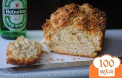 Фото рецепта: «Пивной хлеб с луком и сыром»