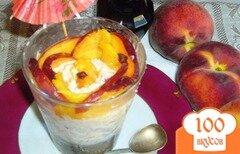 Фото рецепта: «Персиковый десерт»