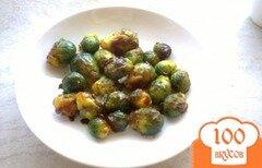Фото рецепта: «Жареная брюссельская капуста»