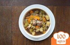 Фото рецепта: «Говяжий суп с овощами»