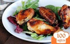 Фото рецепта: «Куриные крылышки в соусе барбекю»