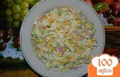 Фото рецепта: «Салат из китайской капусты»