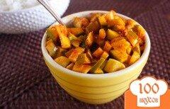 Фото рецепта: «Соленые манго под соусом»