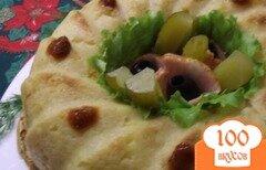 Фото рецепта: «Картофельная бабка с грудинкой»