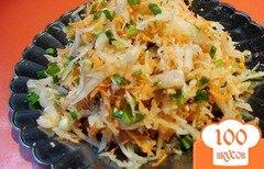 Фото рецепта: «Салат из редьки и квашеной капусты»