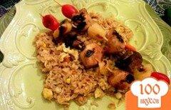 Фото рецепта: «Куриный шашлык по-гавайски»