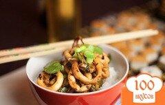 Фото рецепта: «Кальмары по-китайски»