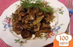 Фото рецепта: «Томленые желудки индейки»