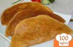 Фото рецепта: «Блинчатые пирожки с начинкой из курятины и грибов»