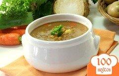 Фото рецепта: «Суп из чечевицы с мясом»