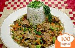 Фото рецепта: «Рис с грибами.»
