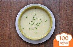 Фото рецепта: «Картофельный суп с пореем»
