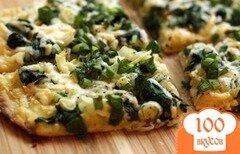 Фото рецепта: «Пицца со шпинатом»