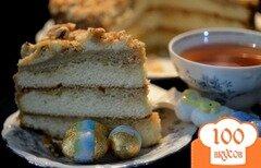 Фото рецепта: «Простой карамельный торт»