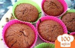 Фото рецепта: «Шоколадный фондан»