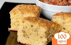 Фото рецепта: «Кукурузный хлеб с семечками»