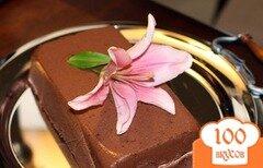 Фото рецепта: «Шоколадный мусс с бурбоном»