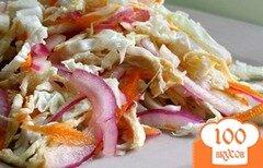 Фото рецепта: «Куриный салат с капустой»