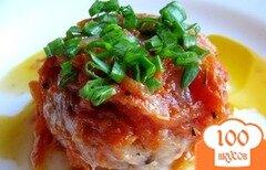 Фото рецепта: «Тефтели с подливкой на сковороде»