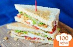 Фото рецепта: «Вегетарианский сэндвич»