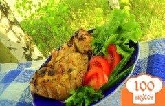 Фото рецепта: «Куриные крылышки и бедрышки – гриль»