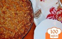 Фото рецепта: «Шотландский овсяный пирог с миндалем»