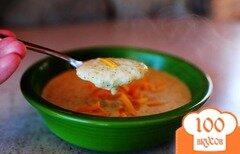 Фото рецепта: «Сырный суп с брокколи»