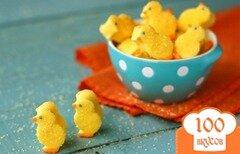 Фото рецепта: «Птенцы из зефира»