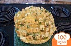 Фото рецепта: «Луковый хлеб с сыром и маком»