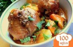 Фото рецепта: «Жаркое из зайца или кролика»