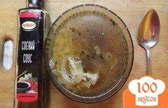 Фото рецепта: «Суп с соевым соусом»
