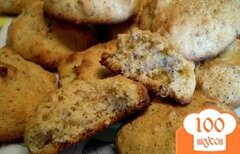 Фото рецепта: «Кукурузное печенье с орехами от производителя»